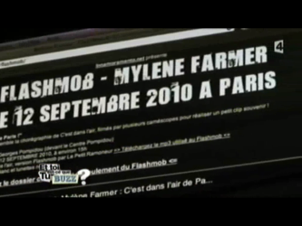 Mylène Farmer / Flashmob sur France 4