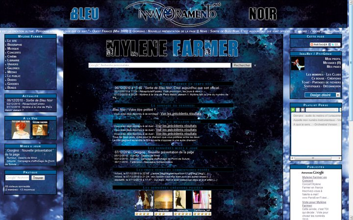 Mylène Farmer / Visuel version 6