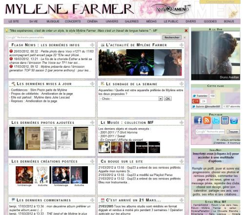Mylène Farmer / Visuel version 7