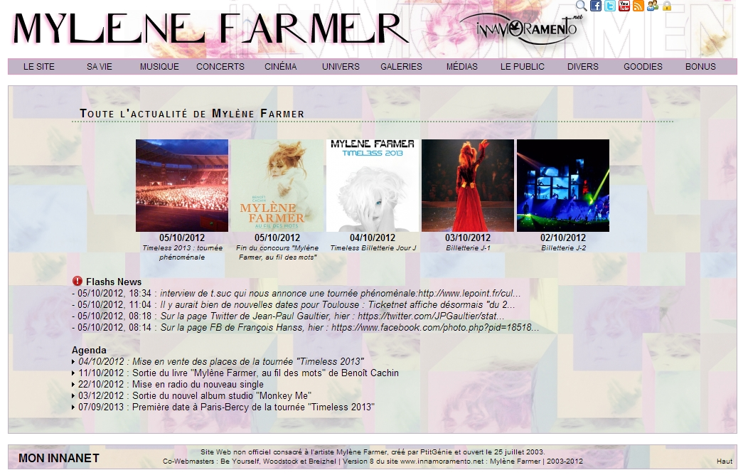 Mylène Farmer / Visuel version 8