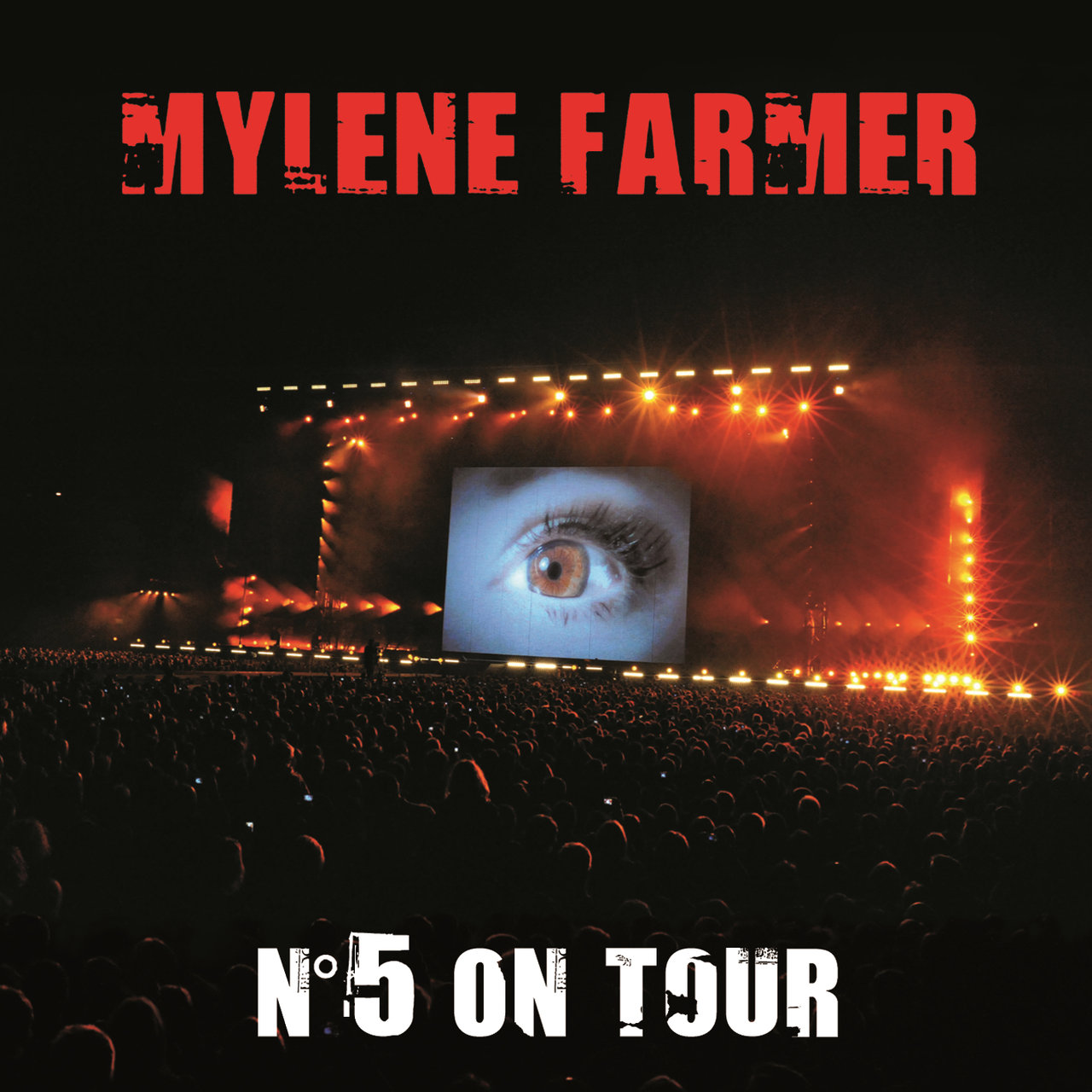 Pochette album N°5 On Tour