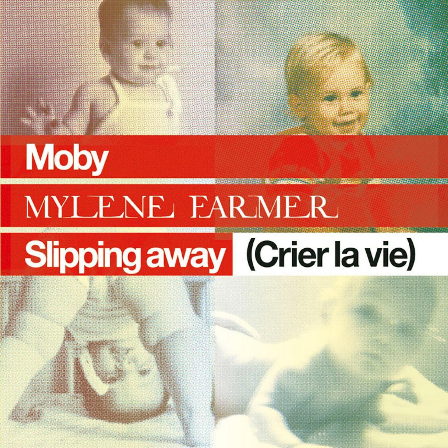 Pochette single Slipping away (Crier la vie)