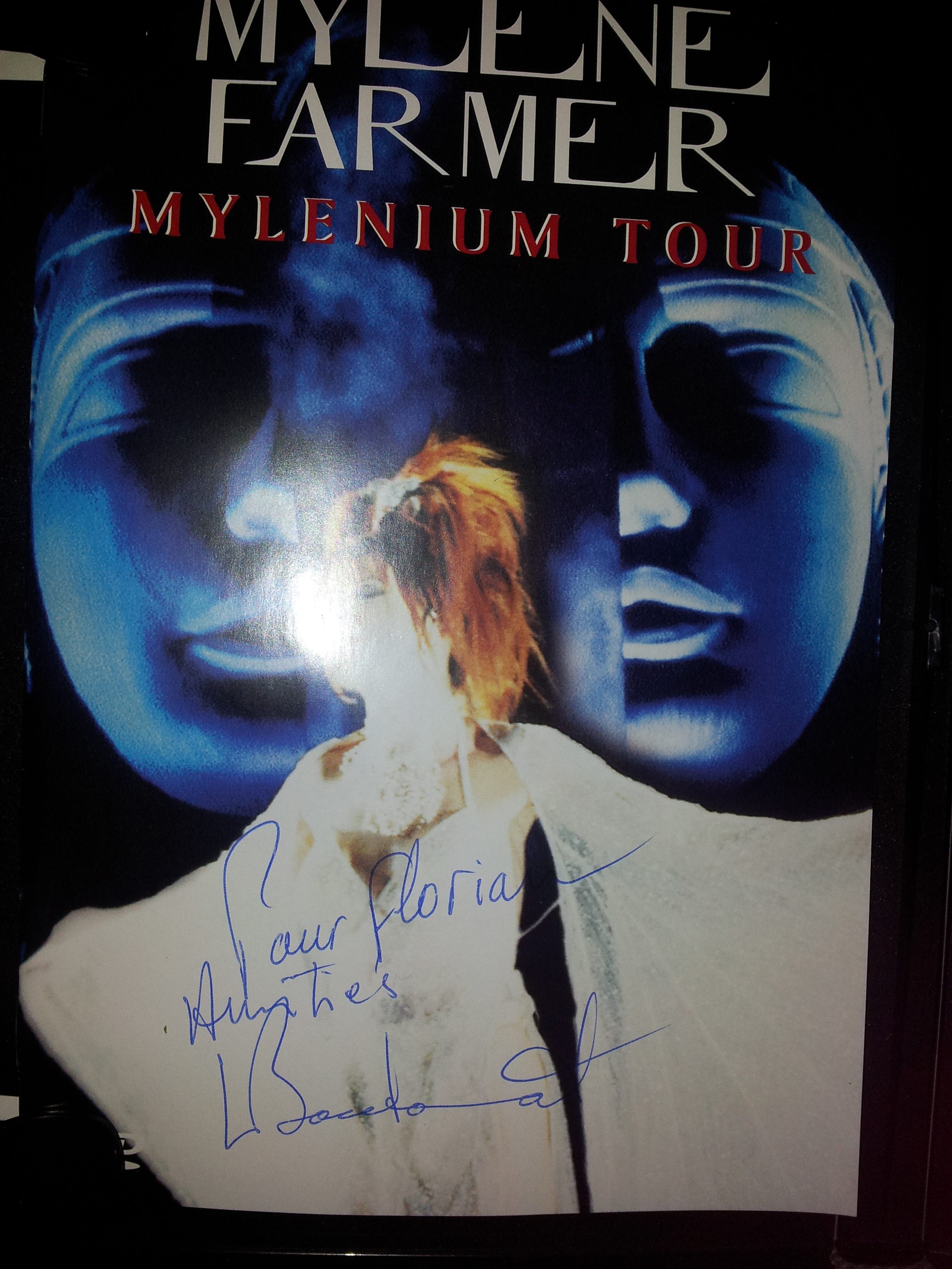 Rencontre fan mylene farmer