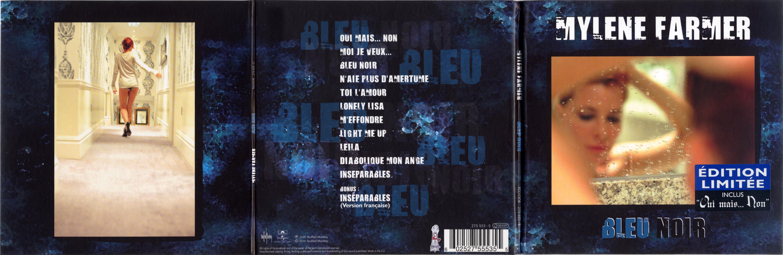 Bleu Noir - Album Digifile - Référentiel Mylène Farmer